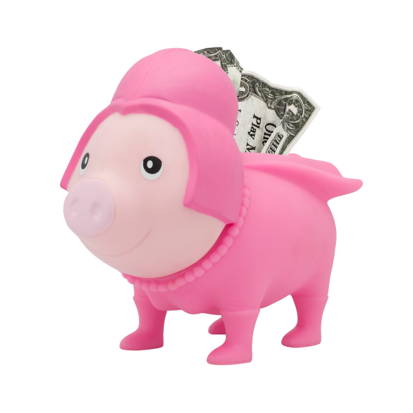 LILALU BIGGYS Sparschwein Pink Star