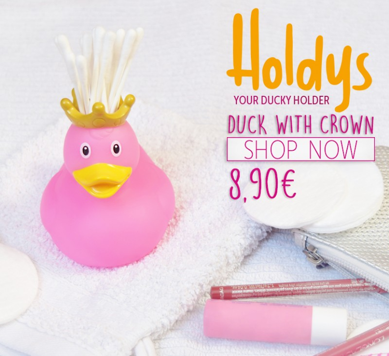 LILALU Holdys Duck with crown