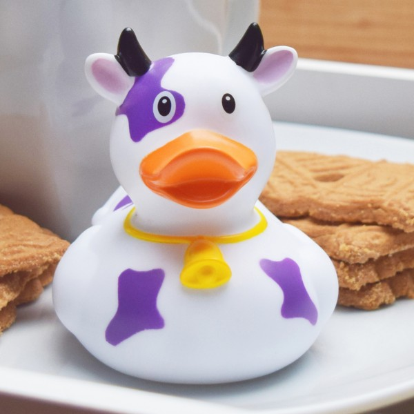 LILALU rubber purple Cow with cookies
