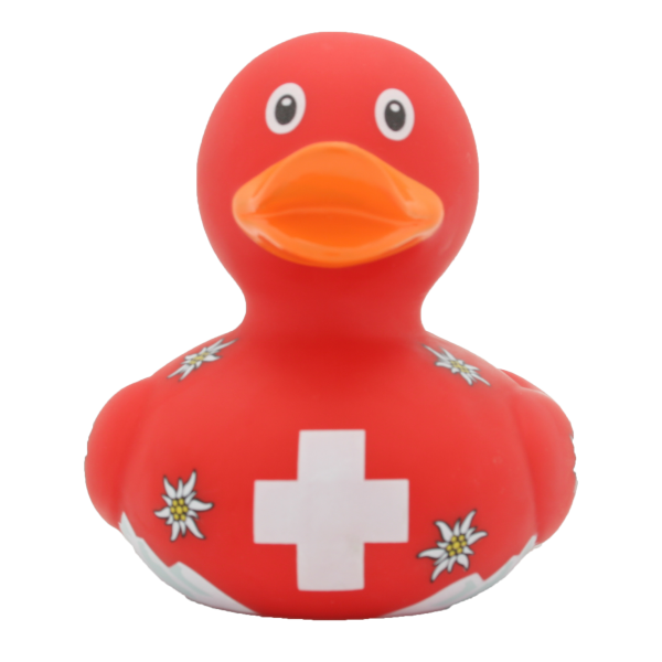 Switzerland duck - design by LILALU