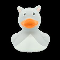 Katzen Ente, grau -design by LILALU