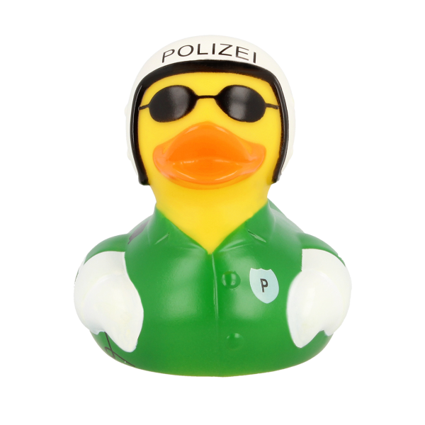 Rubber Duck Male Biker Cyclist