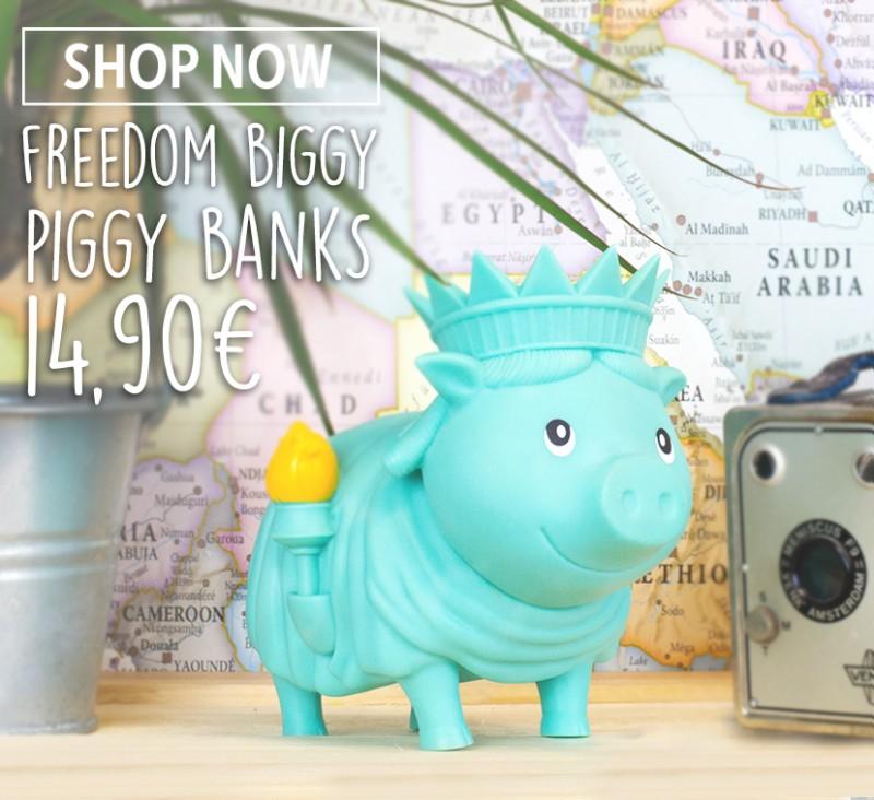 LILALU - Piggy Bank, Freedom BIGGY