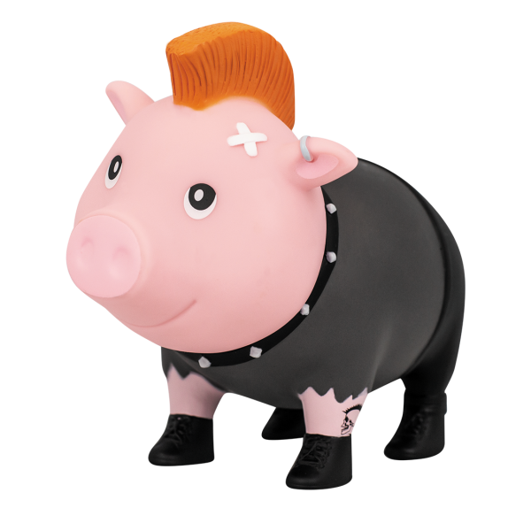 LILALU Sparschwein Punker halblinks