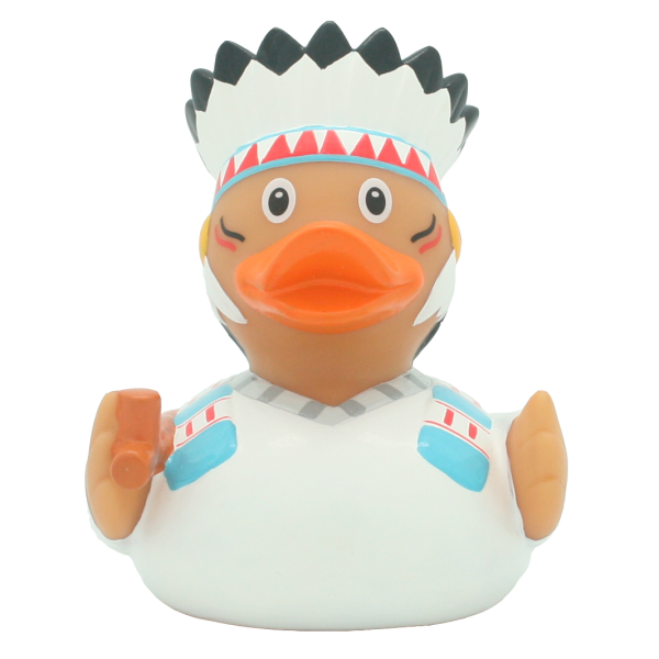 Native American chief duck - design by LILALU