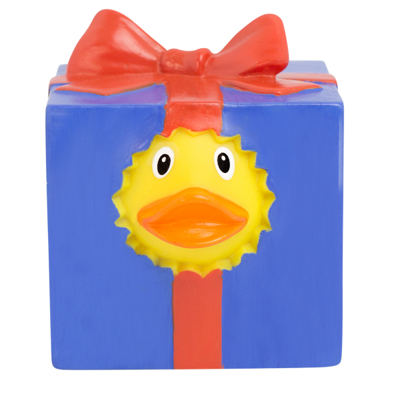 LILALU rubber duck gift frontal view