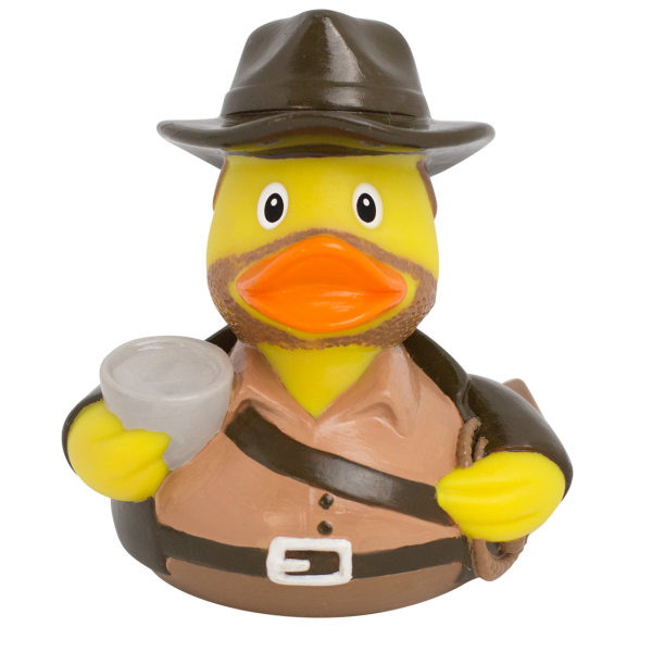 LILALU rubber duck Indy frontal view