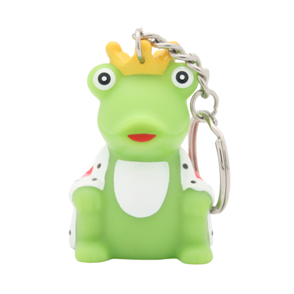 Key Chain frog with cape
