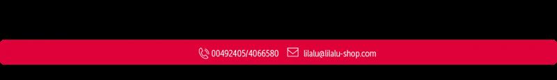 LILALU Contact Logo print