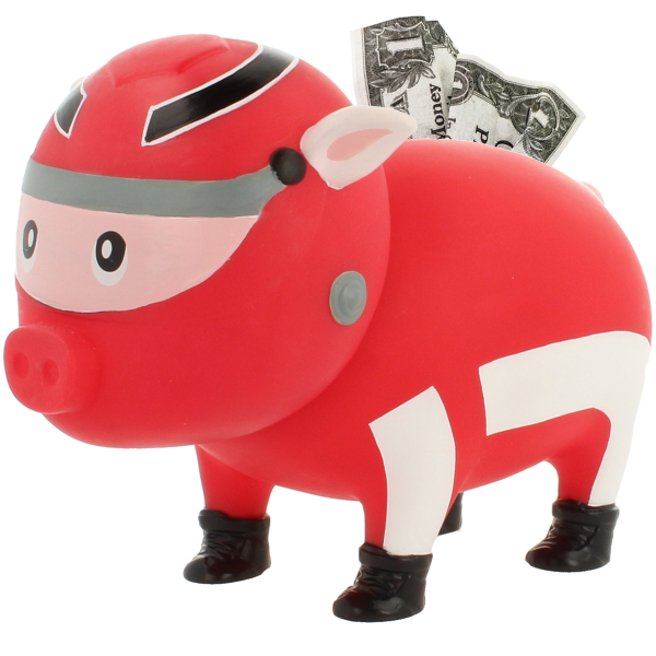 Racer Piggy Bank, BIGGYS - design by LILALU