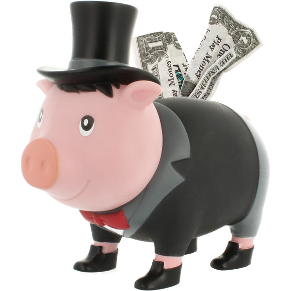 Groom Piggy Bank, BIGGYS
