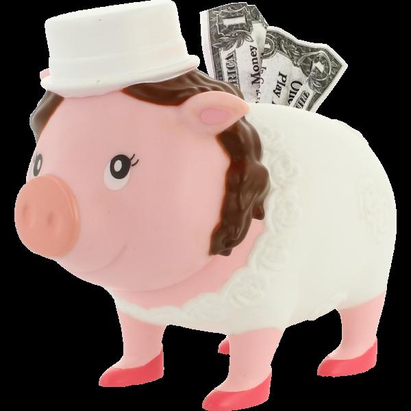 Bride Piggy Bank, BIGGYS - design by LILALU