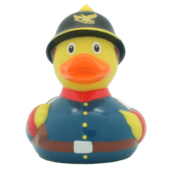 Prussian soldier duck - design by LILALU