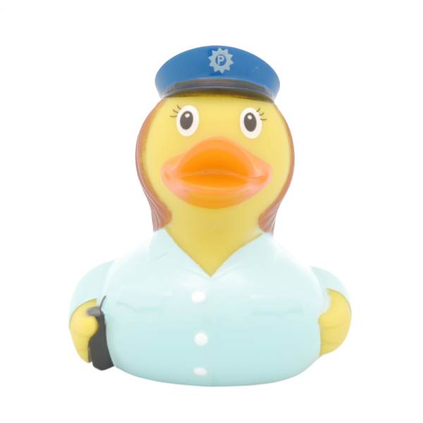Policewoman duck - design by LILALU