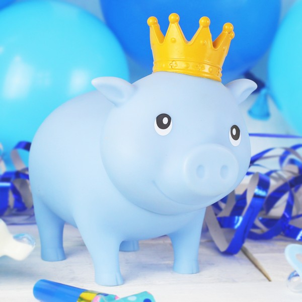 LILALU BIGGYS piggy bank It´s a boy with balloons