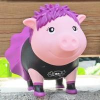 LILALU BIGGYS piggy bank Punk female outside