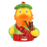 LILALU rubber duck Scotsman frontal view