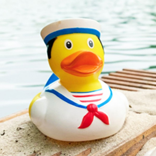 LILALU rubber duck Sailor on shore