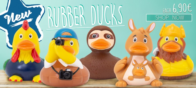 LILALU New Rubber Ducks December 2019
