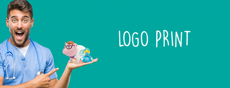 LILALU Logo Print: rubber ducks and piggy banks