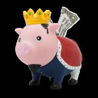 LILALU BIGGYS Sparschwein König