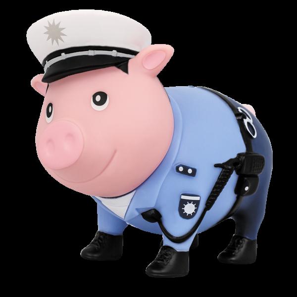 LILALU Sparschwein Polizist halblinks