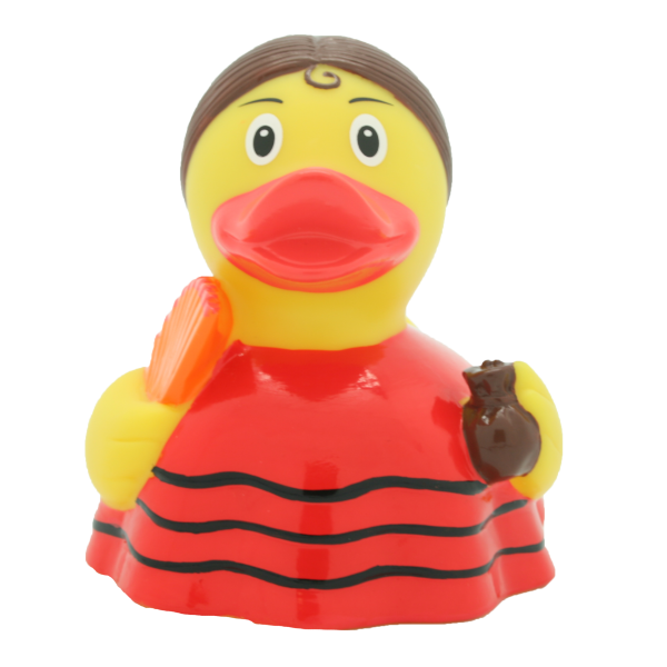 LILALU - SHARE HAPPINESS - Flamenco dancer rubber duck - design by LILALU