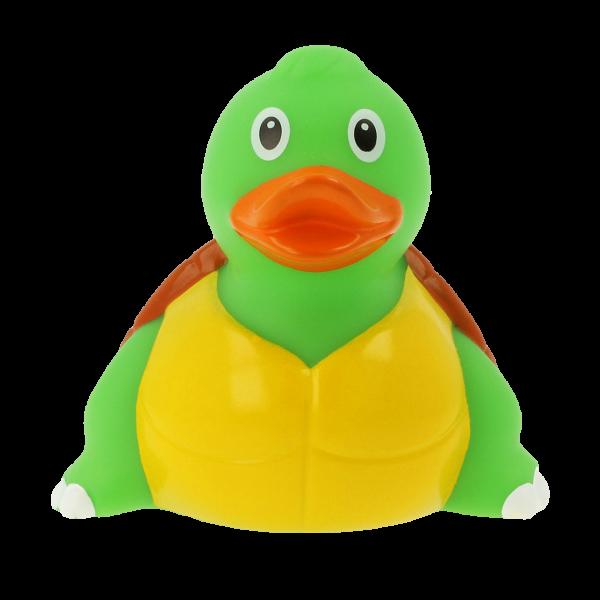 LILALU Quietscheente Schildkröte Frontansicht