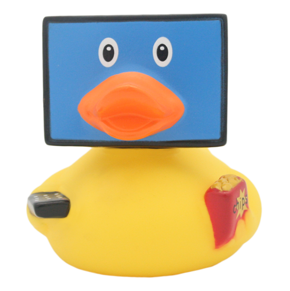 TV duck - design by LILALU