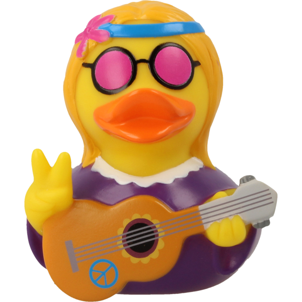 LILALU - SHARE HAPPINESS - Hippie Female Rubber Duck - design by LILALU