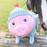 LILALU BIGGYS piggy bank Knight on a range