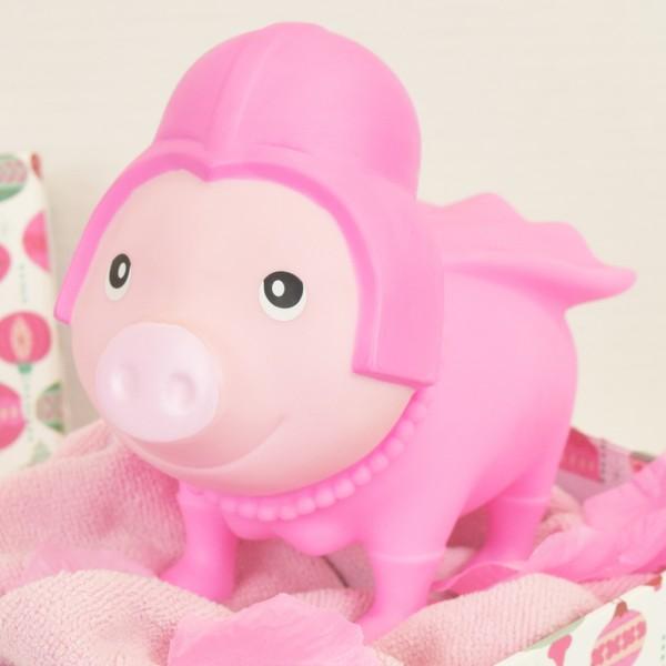 LILALU BIGGYS piggy bank Pink Star in a box