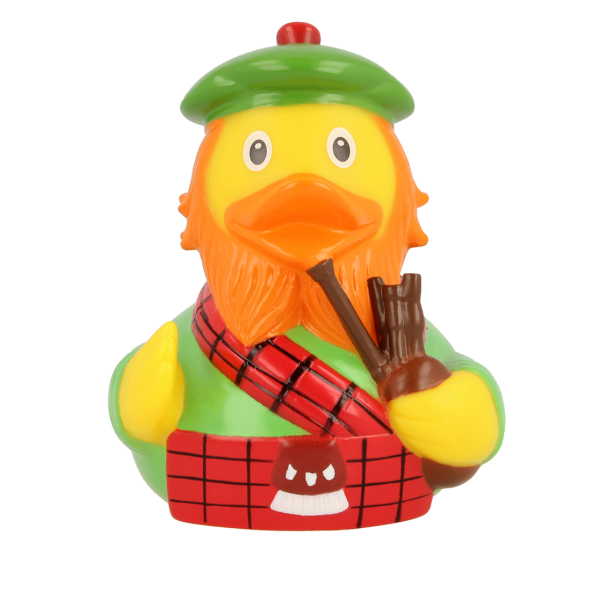 LILALU rubber duck Scotsman frontal view