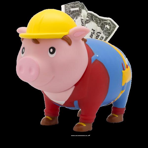 LILALU BIGGYS Sparschwein Handwerker