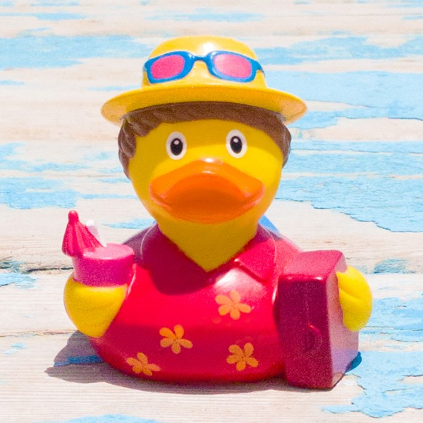 LILALU rubber duck holiday in the sun