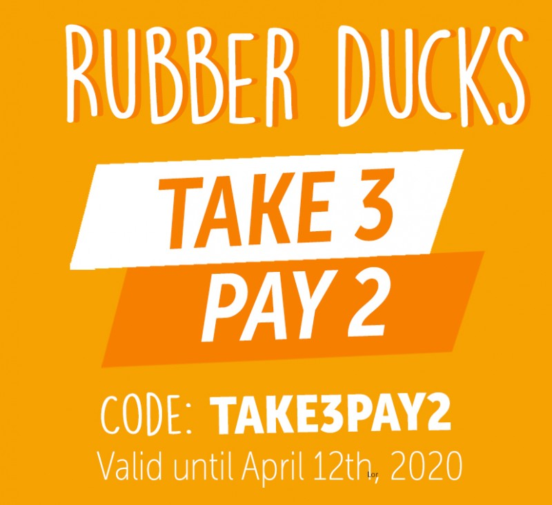 RUBBER DUCKA - TAKE 3, PAY 2
