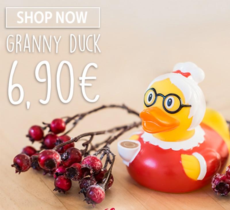 LILALU - Rubber Ducks, Granny Duck