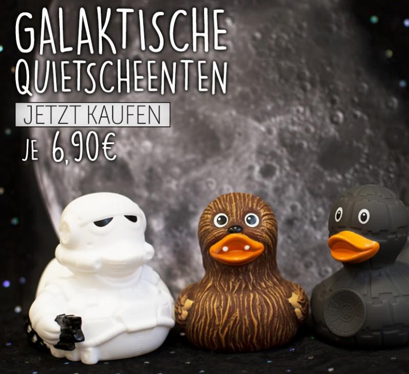 Galaktische Quietscheenten - designed by LILALU