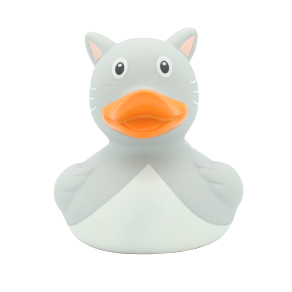 Cat duck, grey -design by LILALU