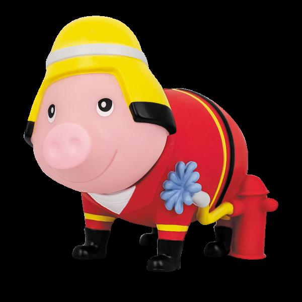 LILALU Sparschwein Feuerwehr halblinks