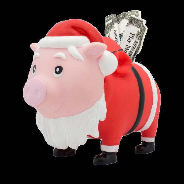 LILALU BIGGYS Sparschwein Santa