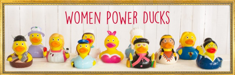 LILALU - SHARE HAPPINESS - The perfect rubber duck as a gift idea for our woman
