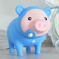 LILALU BIGGYS piggy bank Baby Boy on a cupboard