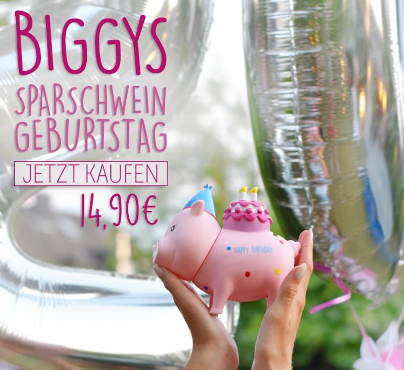 LILALU BIGGYS Sparschwein Geburtstag