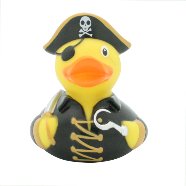 Pirate duck - design by LILALU