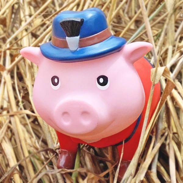 LILALU BIGGYS piggy bank Bavarian in straw
