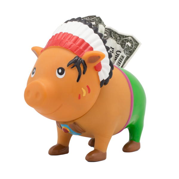 LILALU BIGGYS Sparschwein Häuptling