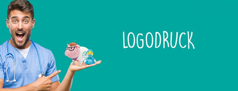 LILALU Logodruck: Quietscheenten und Sparschweine
